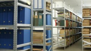 Inred arkiv/lager effektivt och enkelt